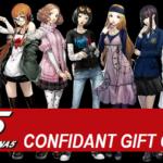 Persona 5 Gift Guide For Confidants