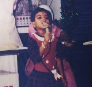 Amritha-Rajan-Amrita-Childhood