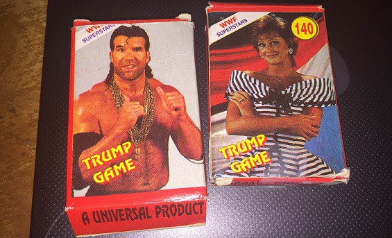 WWF Trump Game Cards, Cricket Trump Game (1990's Favourite)