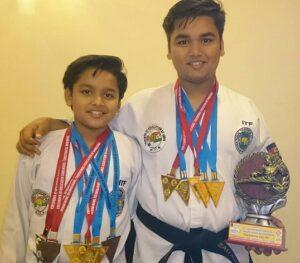 Samyak-Prasana-Brother-Taekwondo